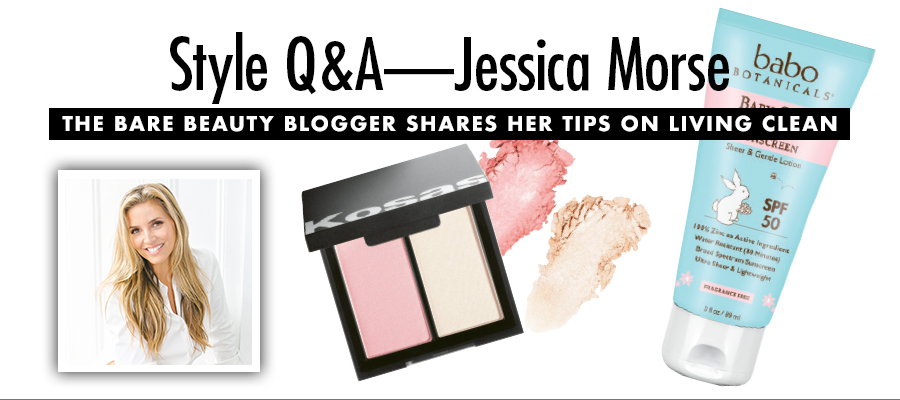 Style Q&A: Jessica Morse