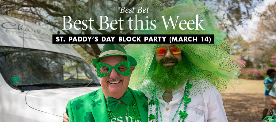 Best Bet: St. Paddy's Day Block Party