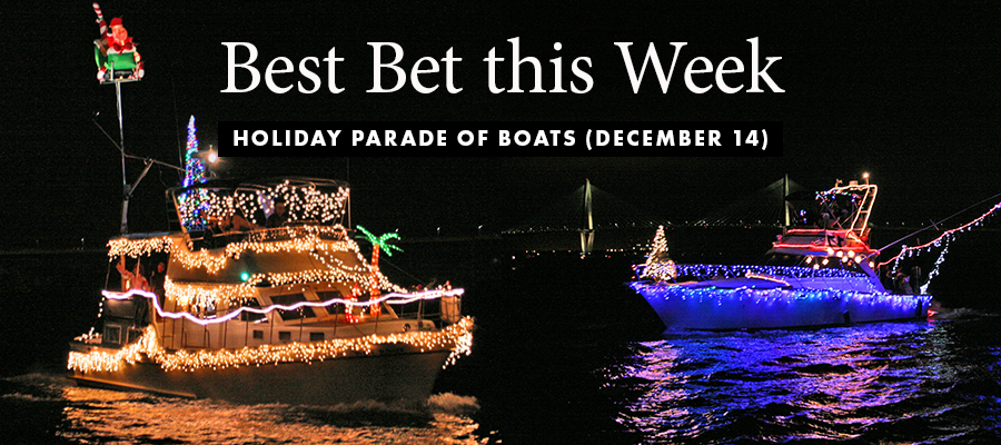 Best Bet: Holiday Parade of Boats