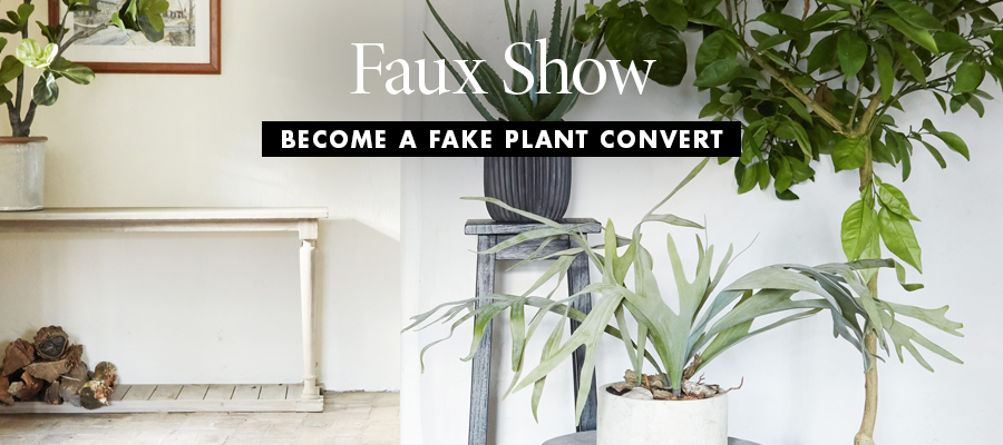 Faux Show: Become a Fake Plant Convert