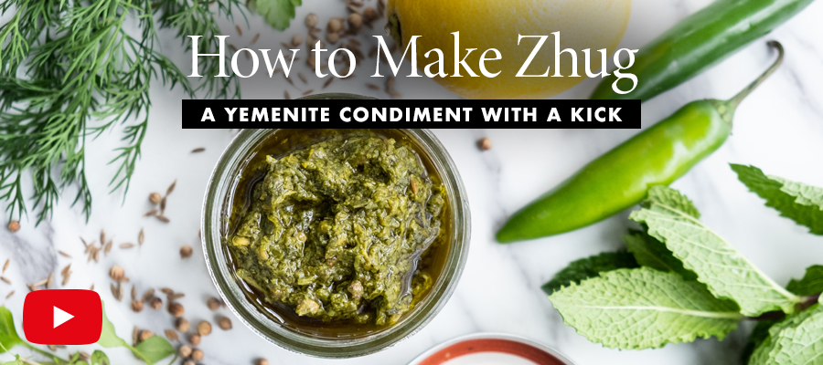 Quick Bite: How to Make Zhug