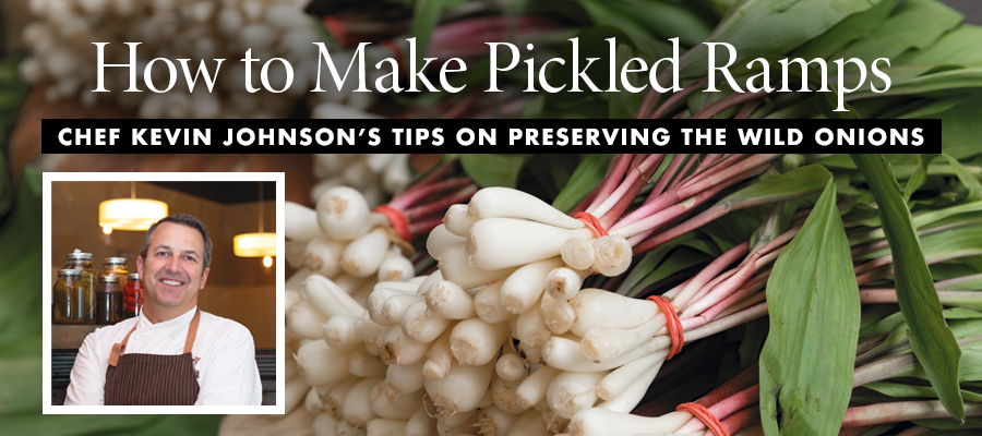 How to Make Pickled Ramps
