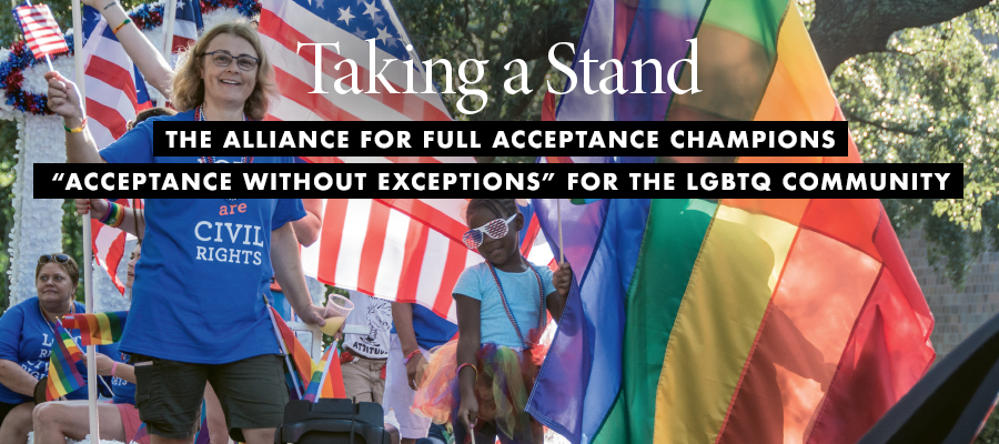 Giving Back: Taking a Stand
