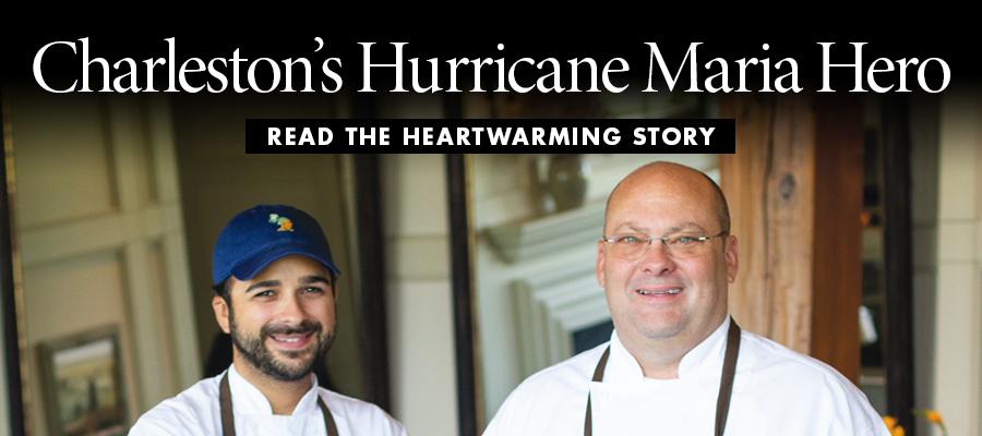 Charleston's Hurricane Maria Hero