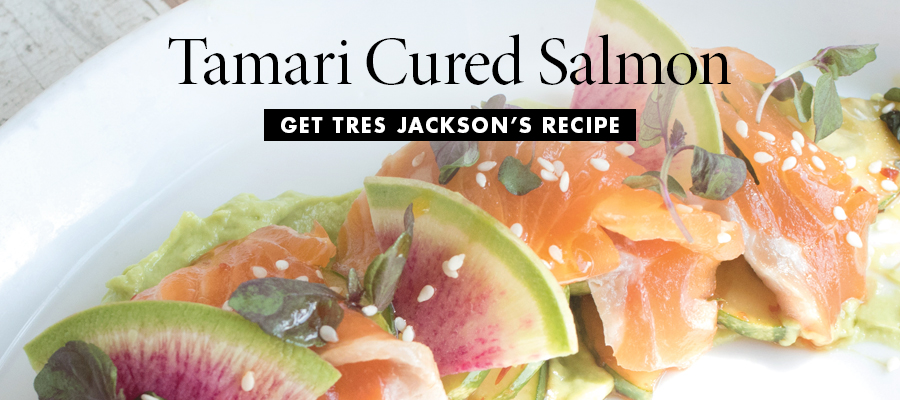 Tamari Cured Salmon