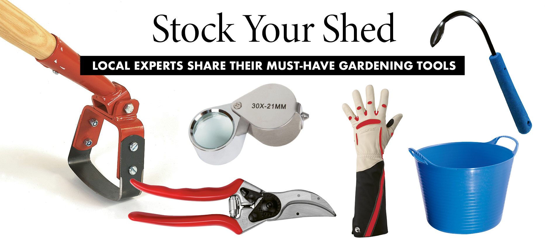 Stock Your Shed