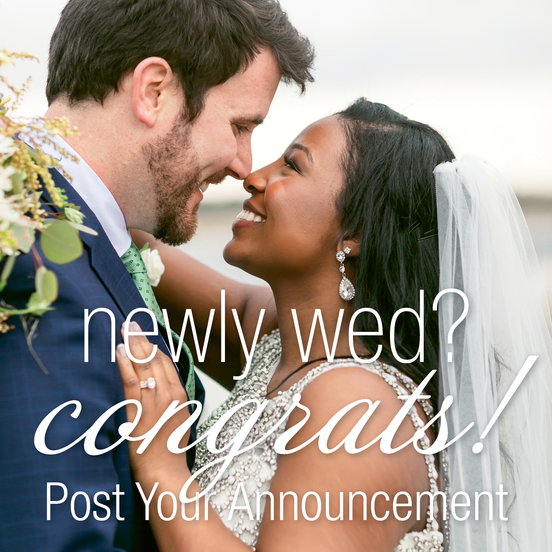 Charleston Weddings Announcements