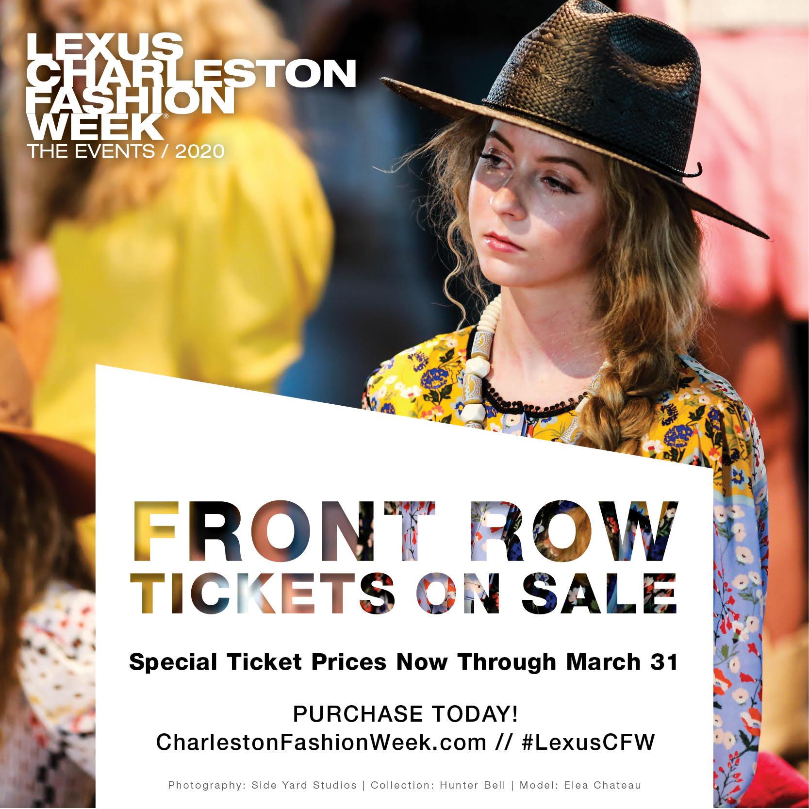Lexus Charleston Fashion Week 2020 - The Events