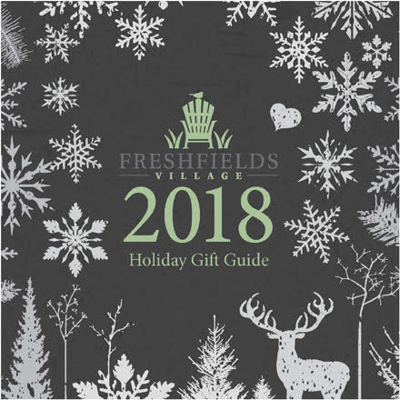 Freshfields Village 2018 Holiday Gift Guide