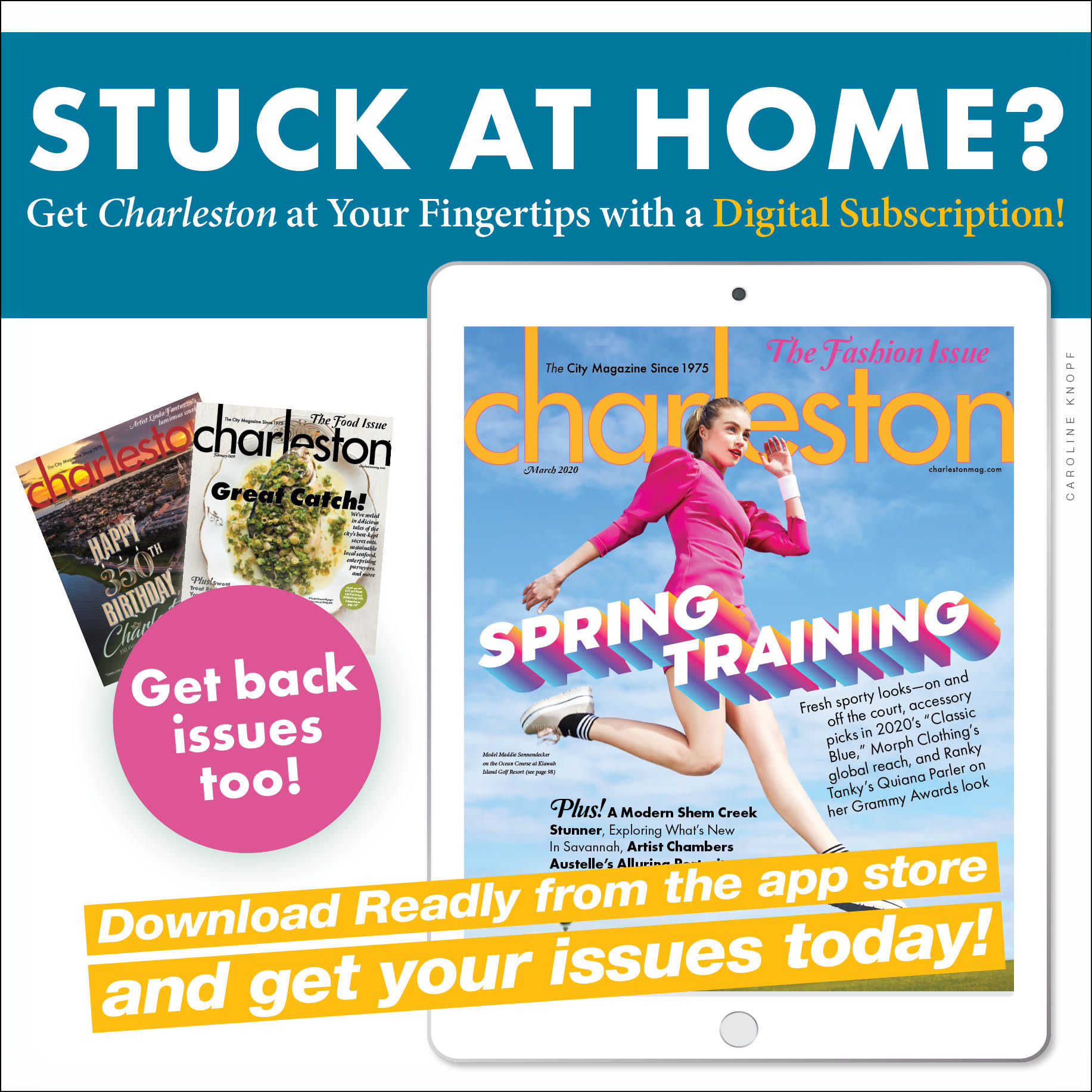Charleston Magazine on Readly!