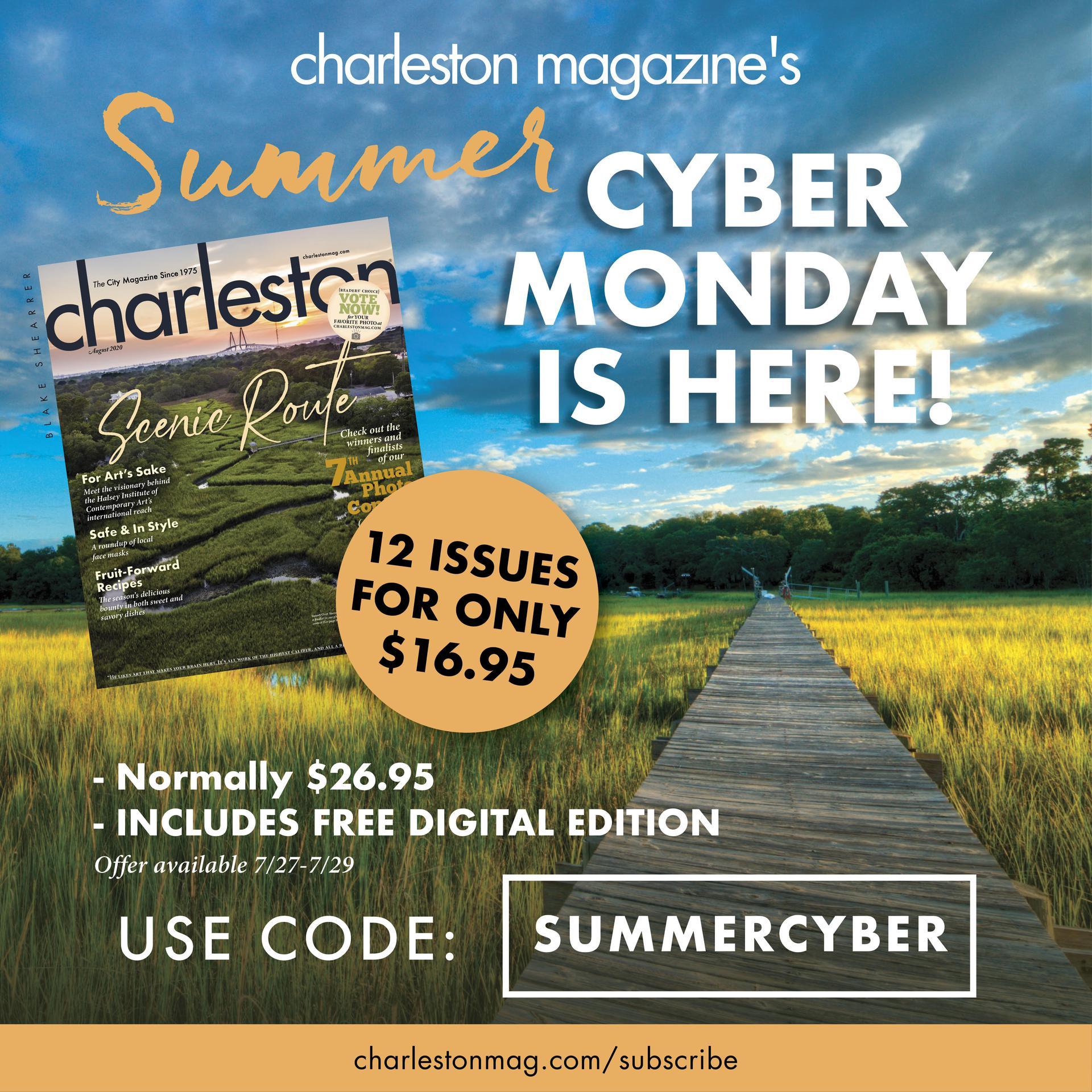 Subscribe to Charleston Magazine