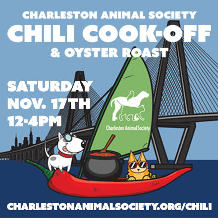 Charleston Animal Society Chili Cook-Off & Oyster Roast