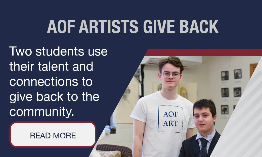 Artists give back