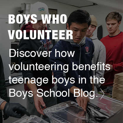 Boys Who Volunter