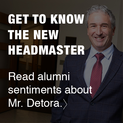 Get to know the new Headmaster