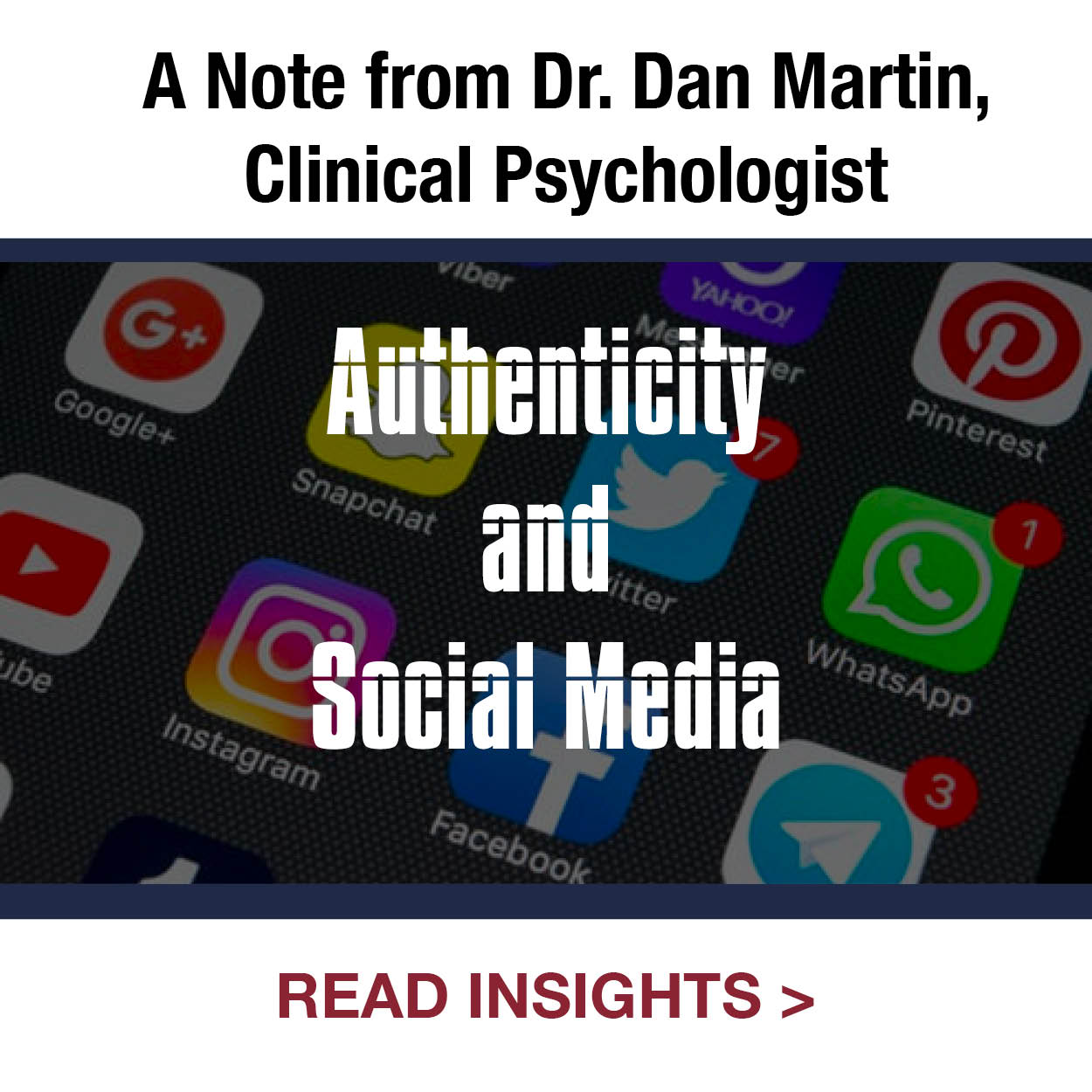Authenticity and Social Media