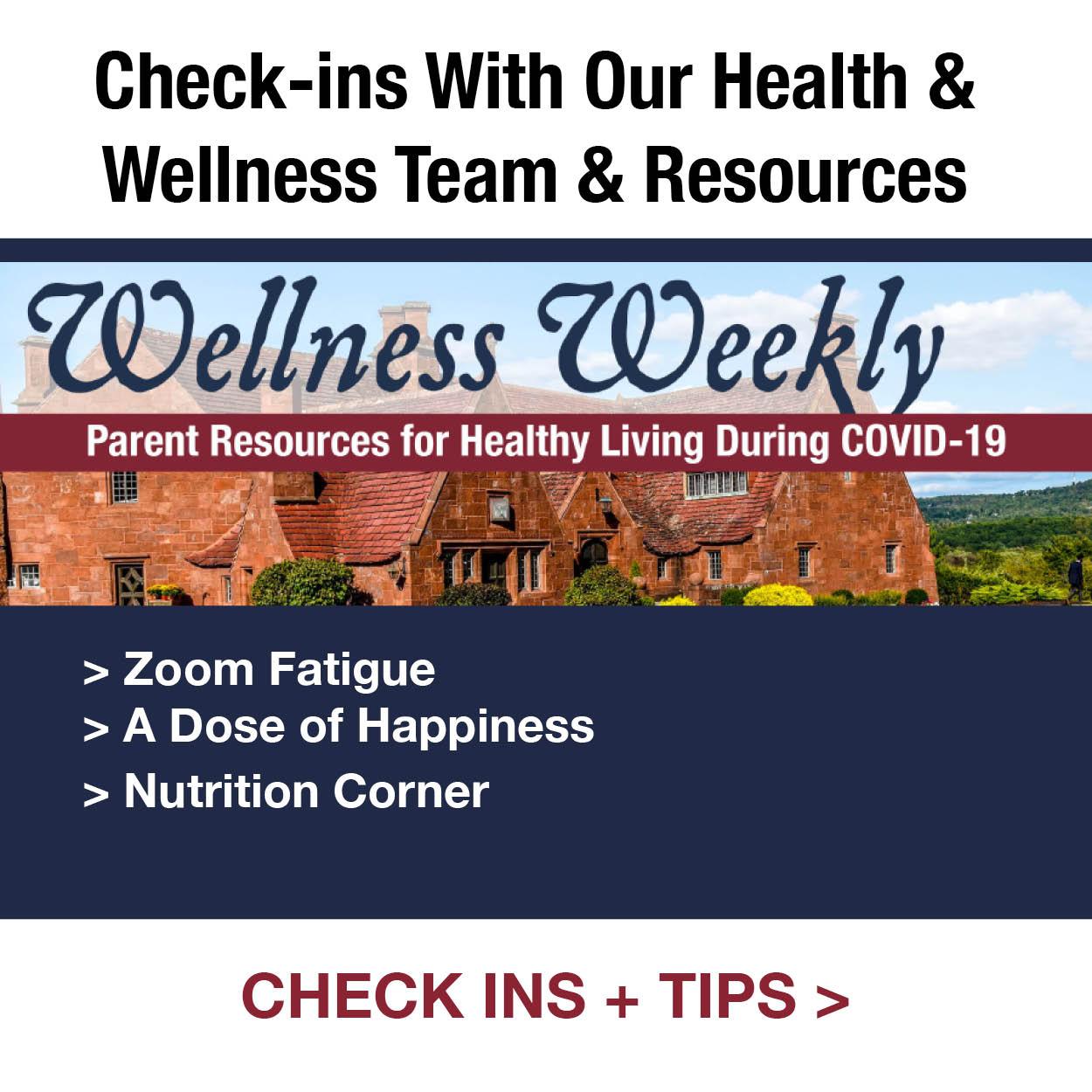 Wellness Weekly