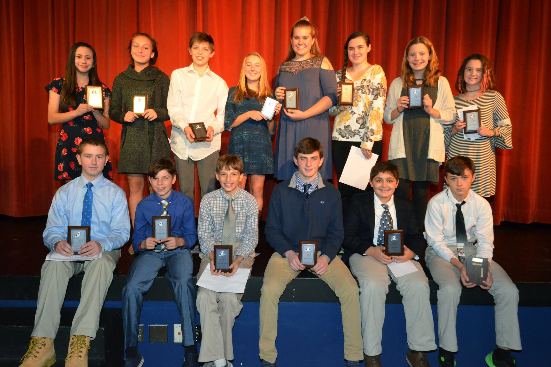 MS Fall Sports Awards