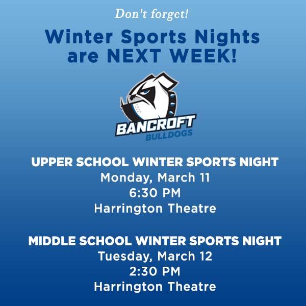 Winter Sports Nights