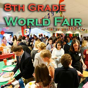 2018 8th Gr. World Fair - Photos by E. Stefani