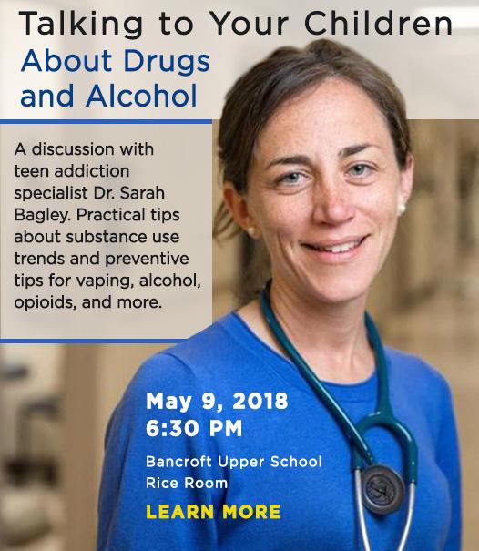 Teen Addiction talk with Dr. Sarah Bagley