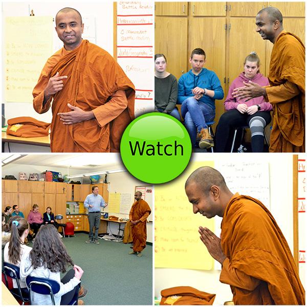 MS Monk Visit Video
