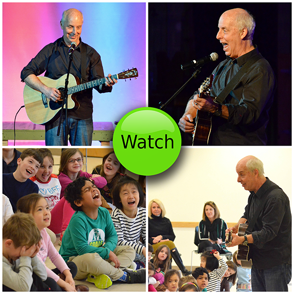 Video: Bill Harley Concert at Bancroft