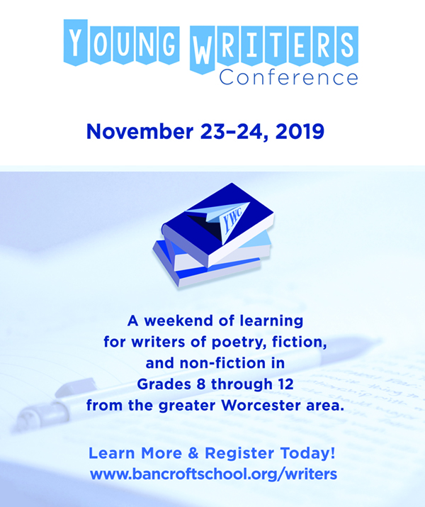 Young Writers Conference, Nov. 23-24, 2019