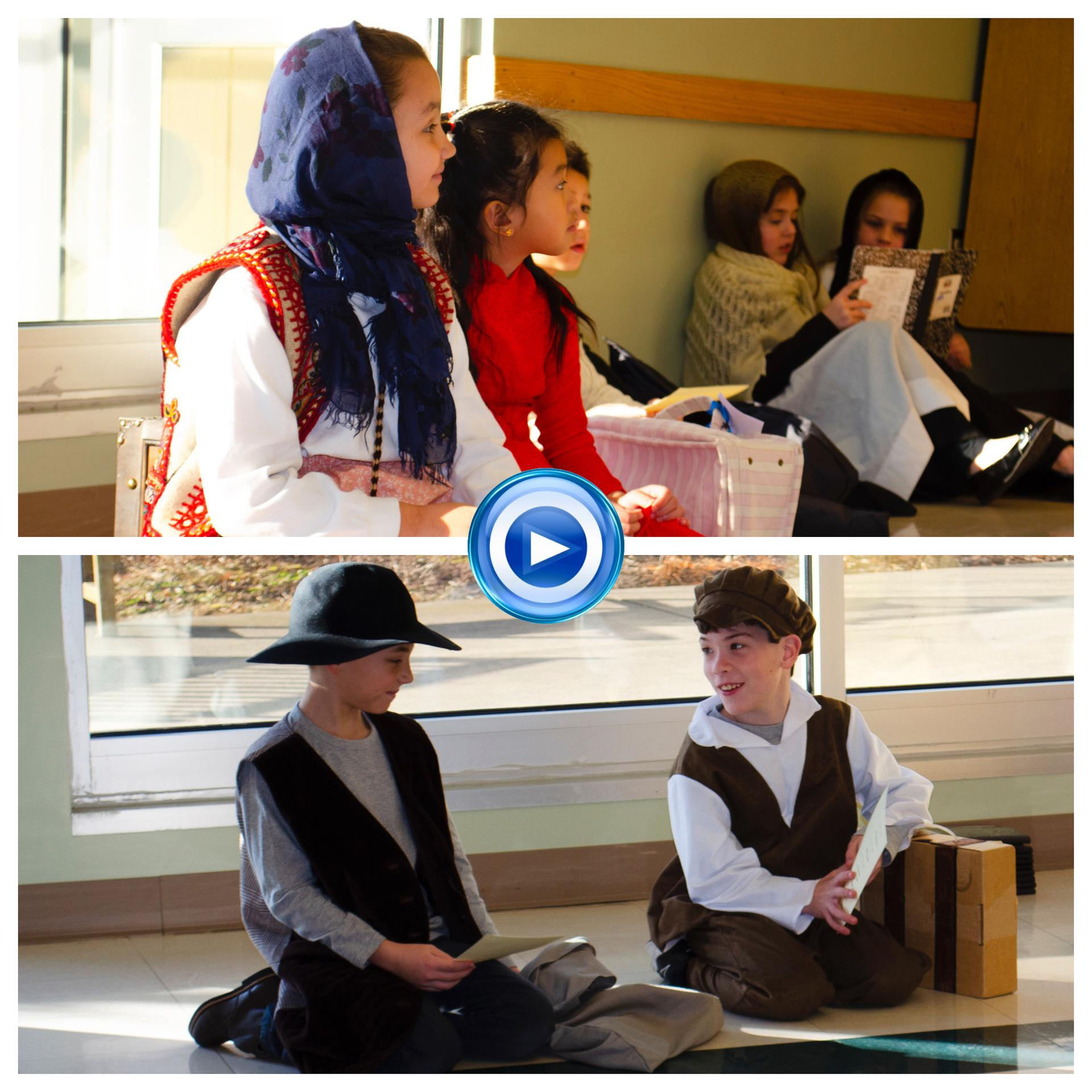 Third Grade Immigration Day