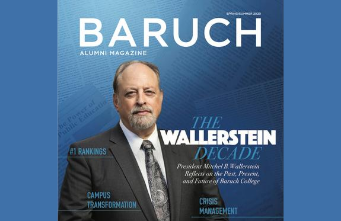 New Issue of Baruch Alumni Magazine