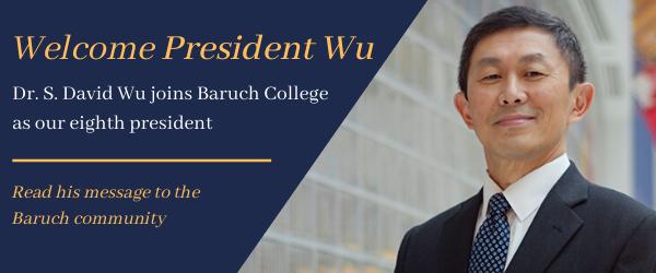 Welcome, President Wu!