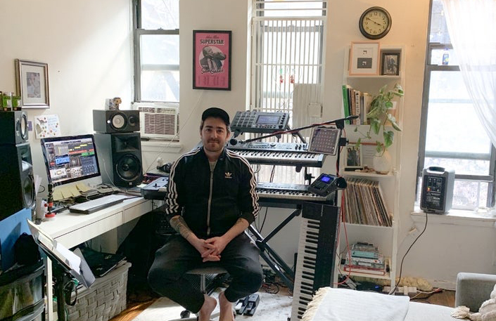 Baruch Piano Man