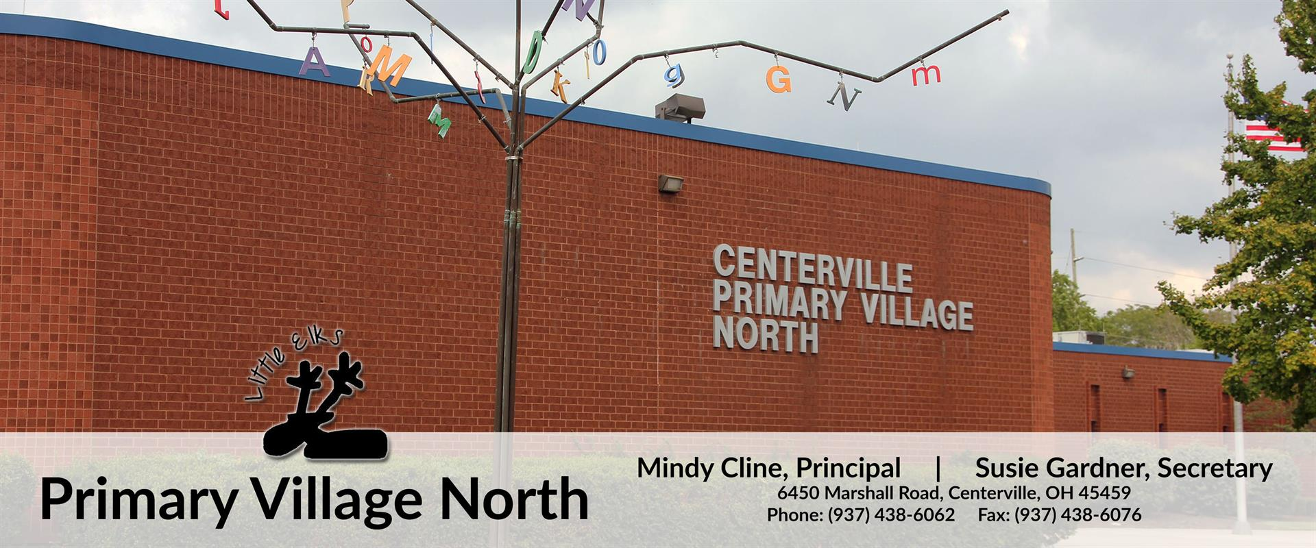 Image of Primary Village North logo and address