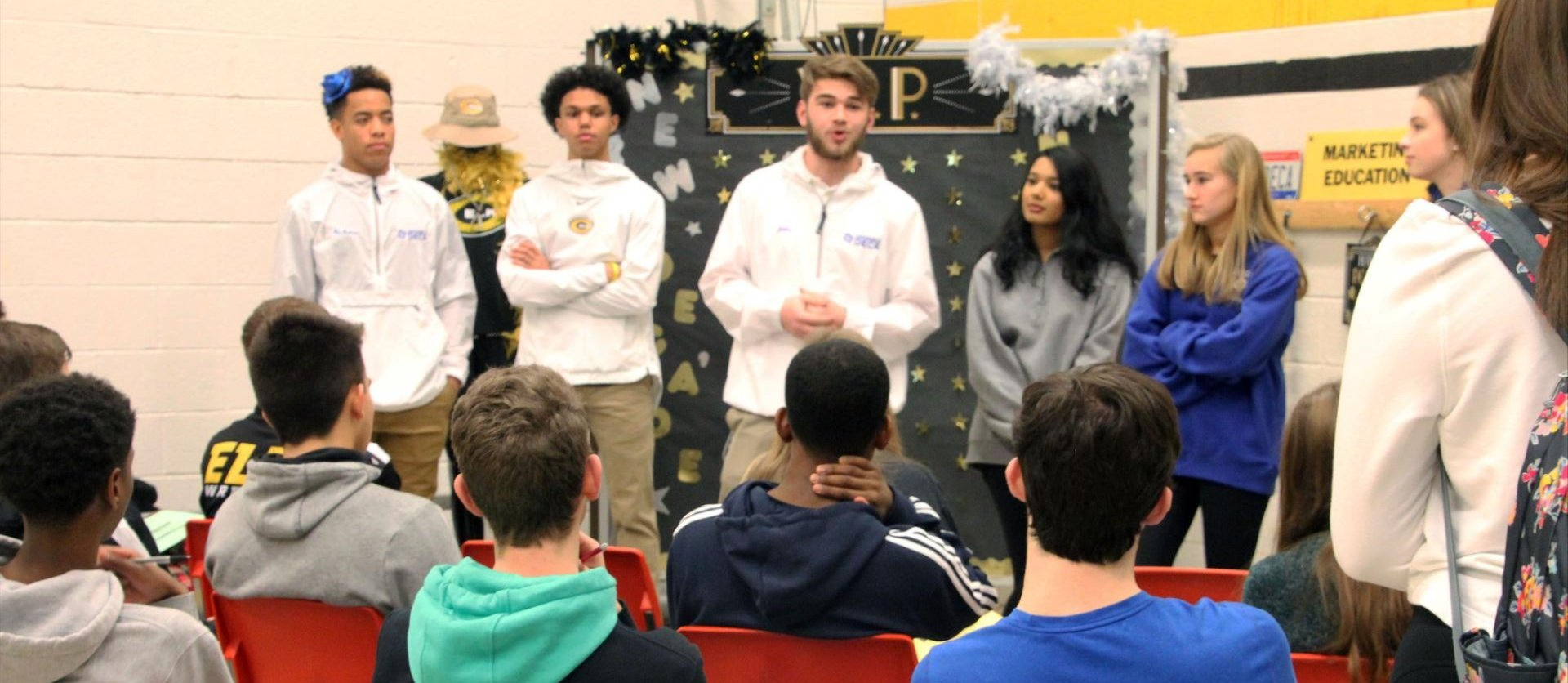Image of CHS students during 2020 Career Tech Education Expo