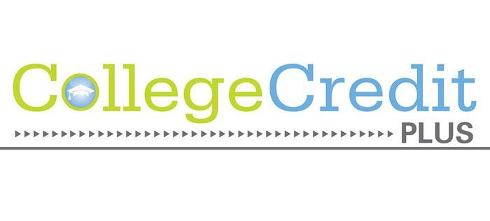 Image that reads College Credit Plus