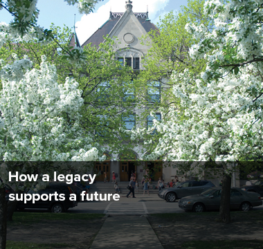 How legacy supports a future
