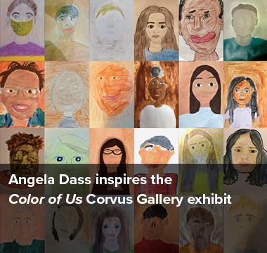 Angela Dass inspires the Color of Us Corvus Gallery Exhibit
