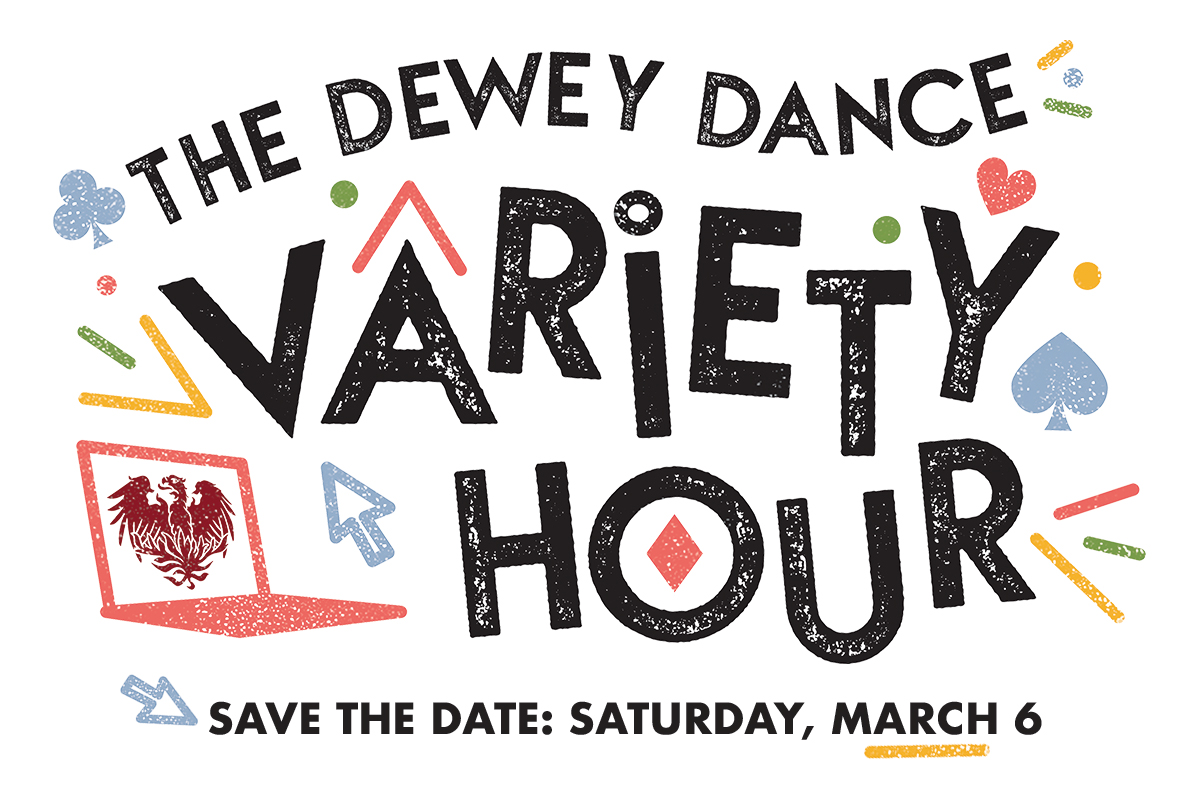Dewey Dance Variety Hour, Save the Date