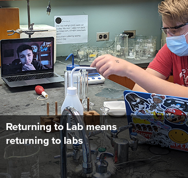 Returning to Lab means returning to labs