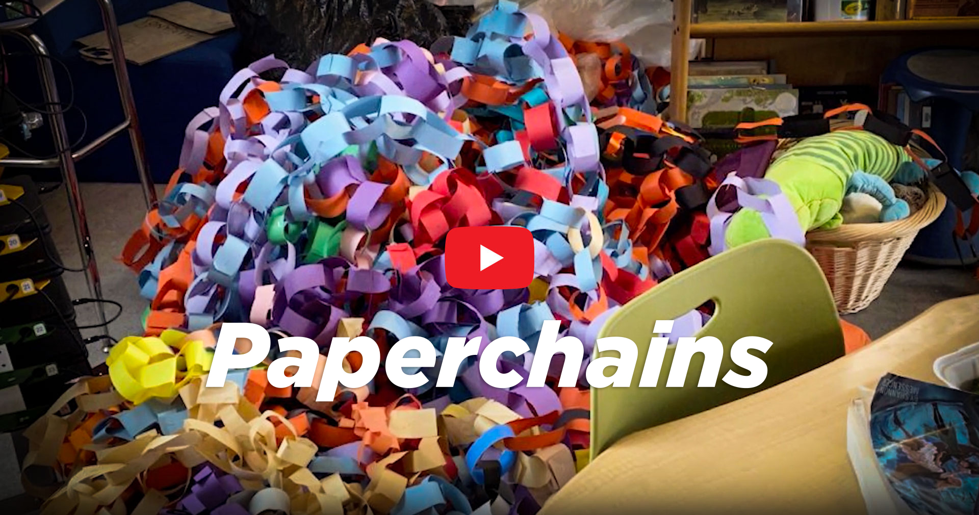 Paperchains connect the Historic Campus with the Early Childhood Campus video