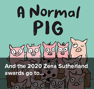 And the 2020 Zena Sutherland awards go to...