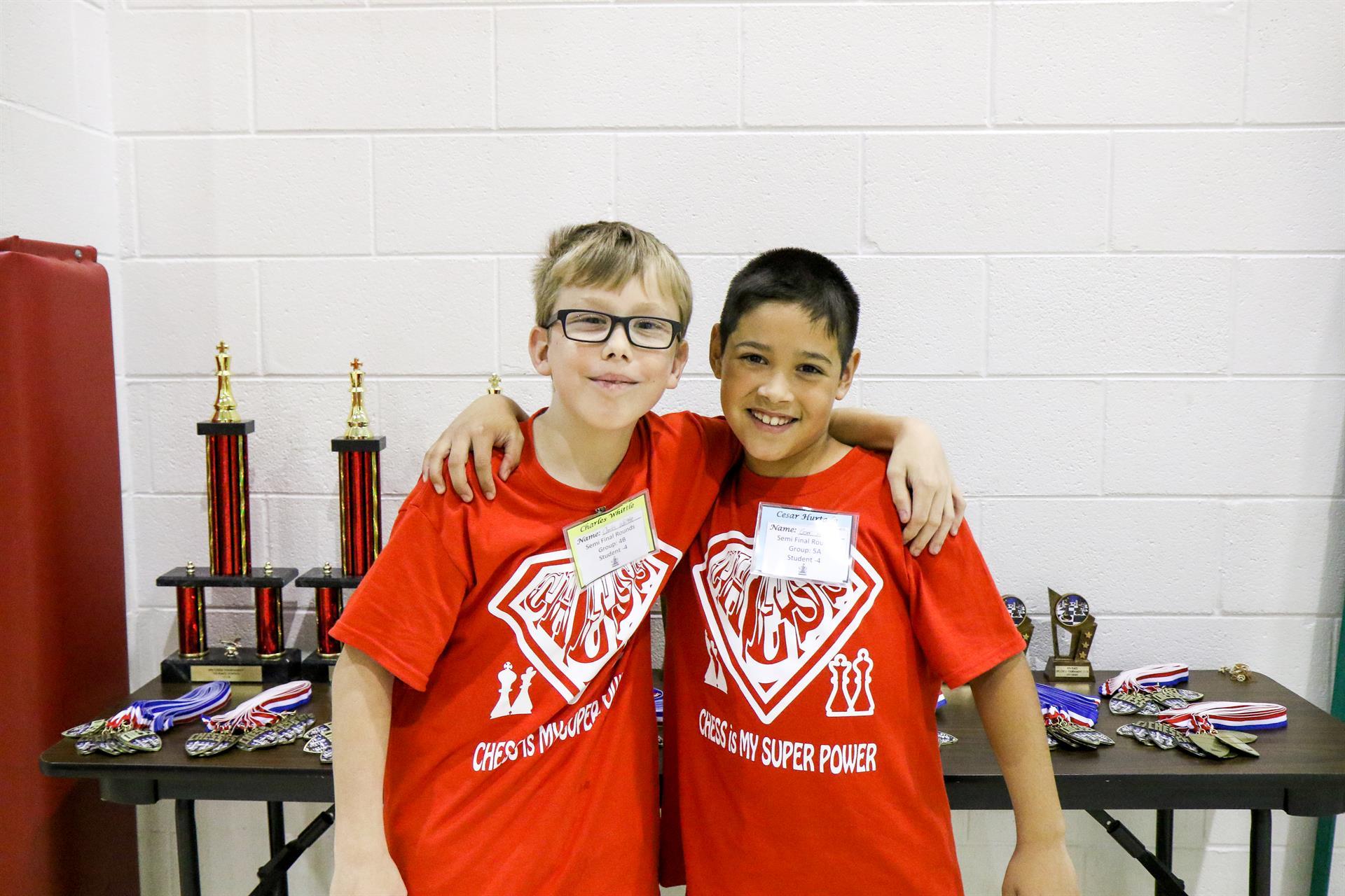Winners of Chess Tournament