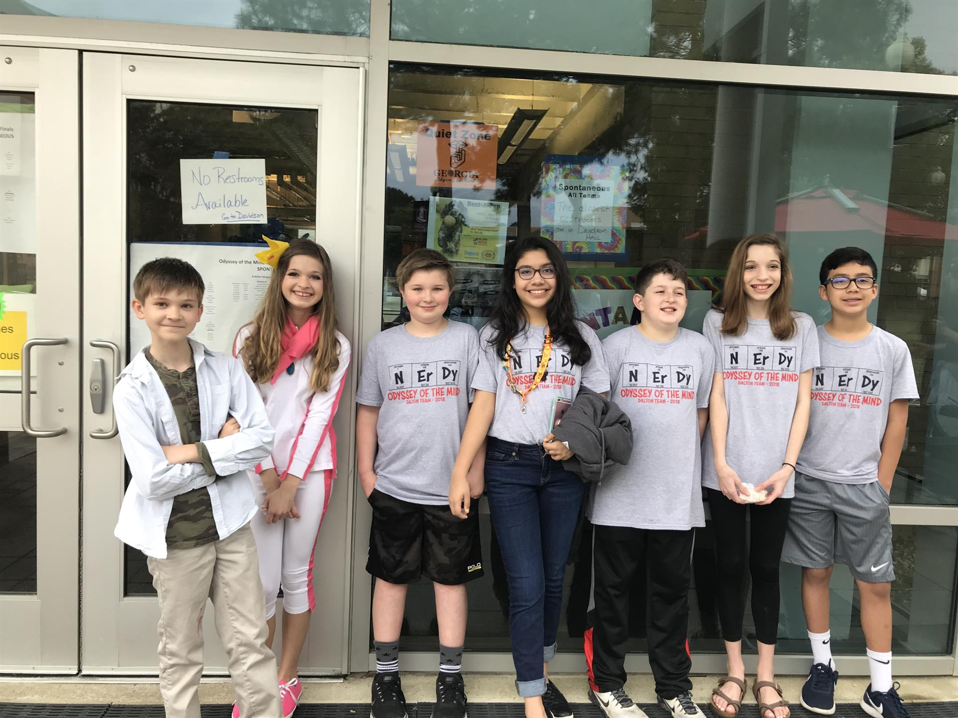 DMS Odyssey of the Mind Team