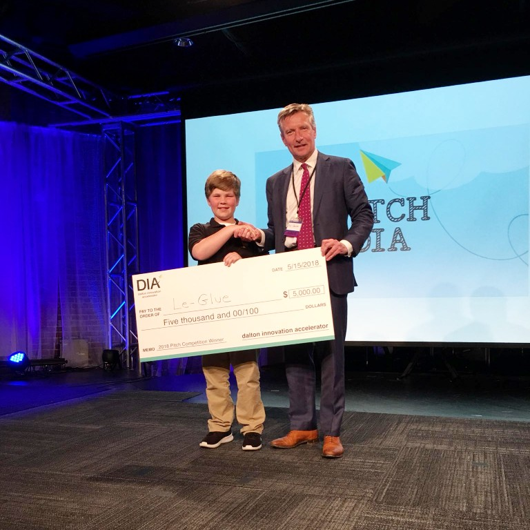 Tripp Phillips wins Pitch Competition