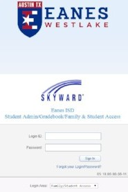 Skyward Family Access link