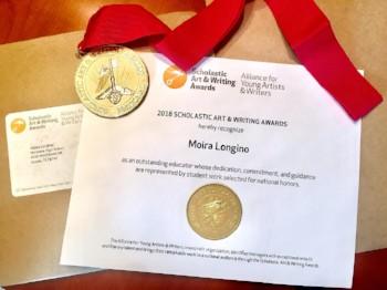 Moira Longino Scholastic Art & Writing Award