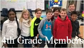 4th grade Student Council members