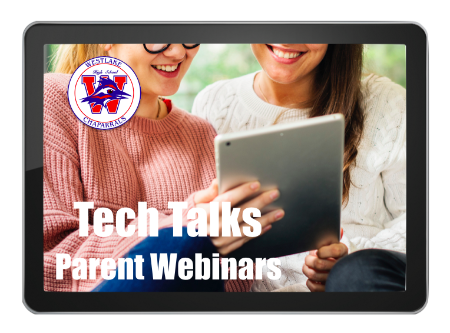 Tech Talks - parent webinars