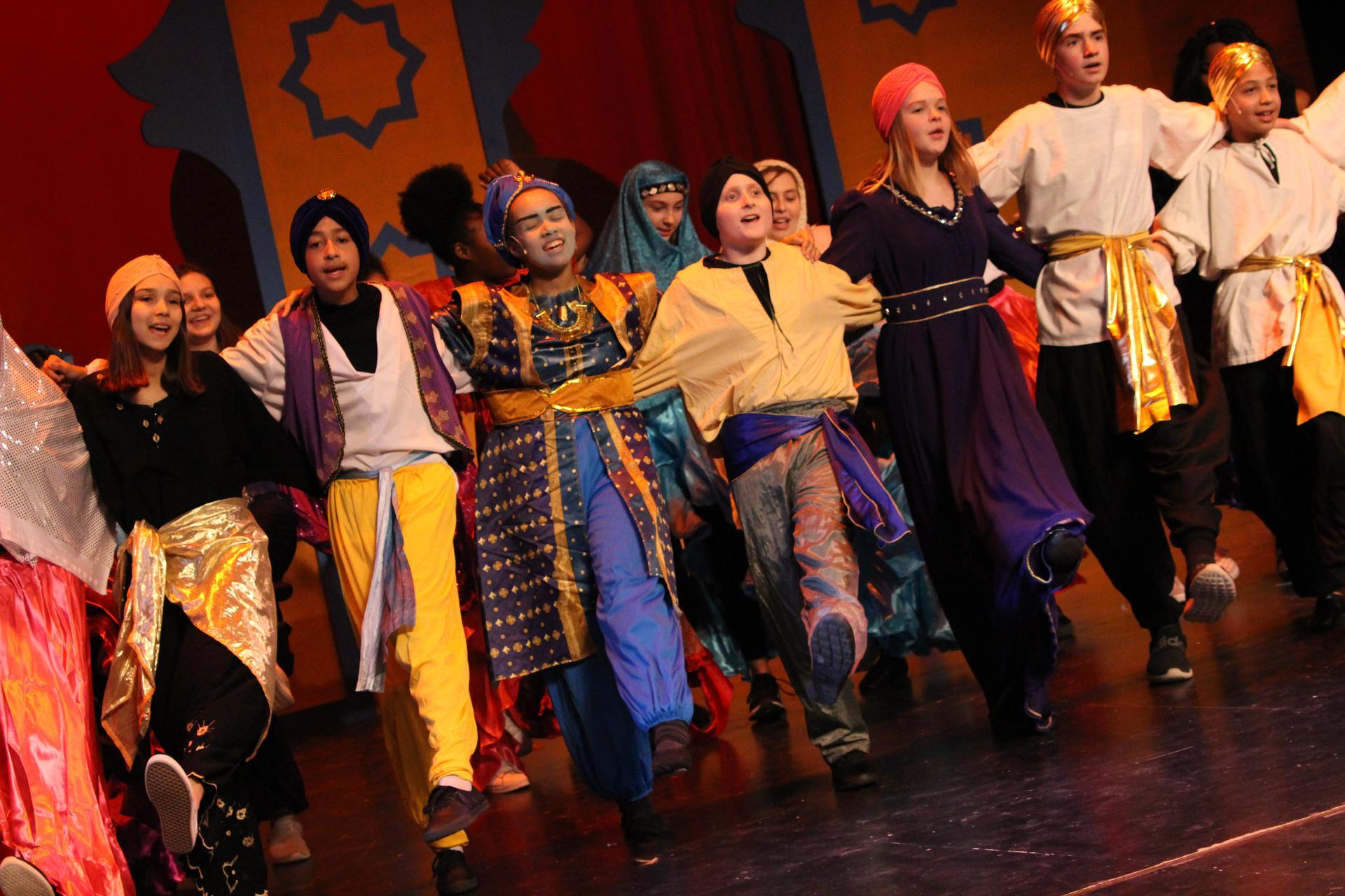 FMS spring musical production Aladdin Jr.