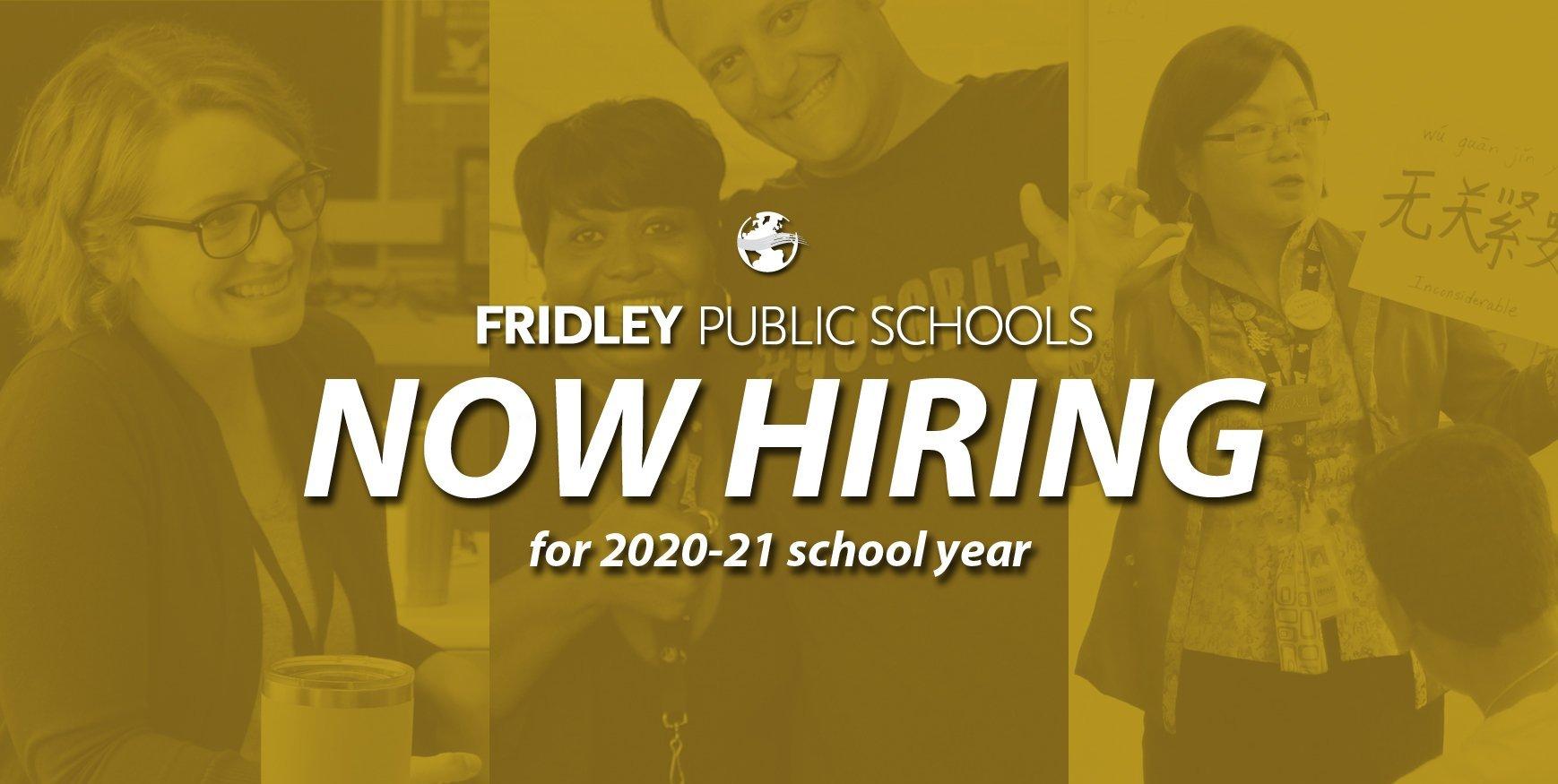 Hiring for 2020-21 school year